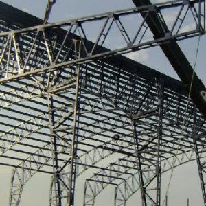 INDUSTRIAL: CONSTRUCCIÓN CON ESTRUCTURAS METÁLICAS.