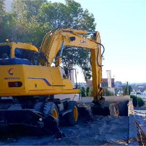 Mantenimiento de excavadoras